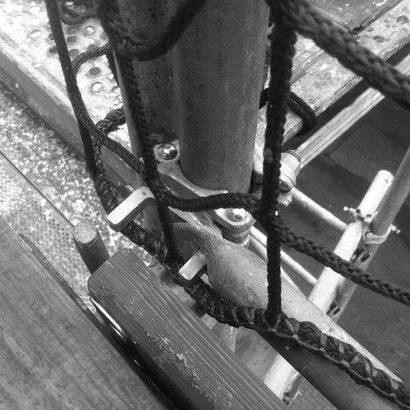 Dachschutzgerüst